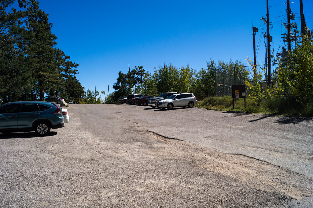 1310 Summit Parking Area Open and being used