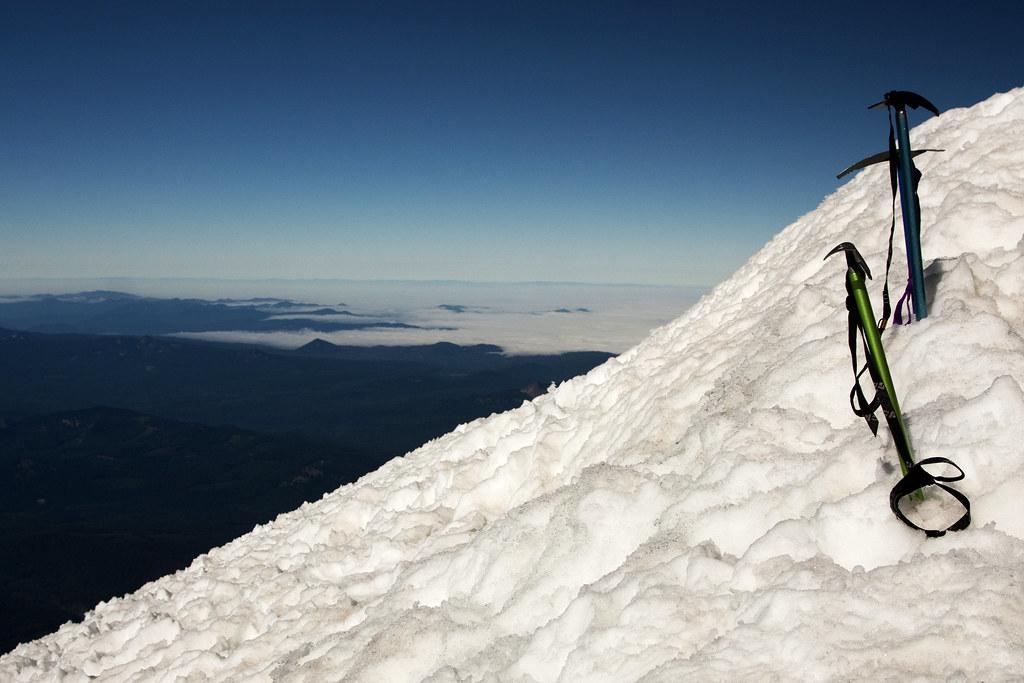 Ice Axes on Summit