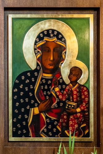 Black Madonna, St. Stephen's Basilica, Budapest, Hungary