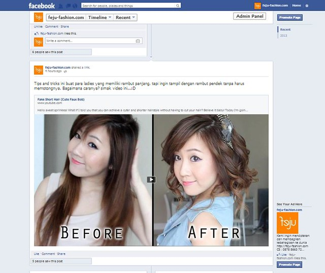 facebook lebar penuh