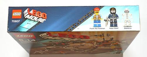 LEGO The Movie 70807 MetalBeard's Duel box03