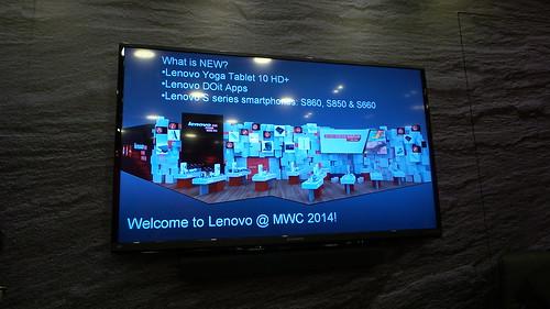มีอะไรใหม่ที่ Lenovo นำมาโชว์ในงาน Mobile World Congress 2014 นี้