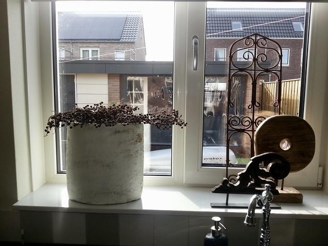 Decoratie vensterbank