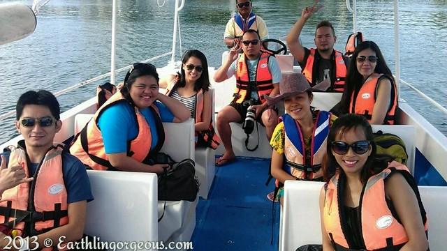 group shot boat