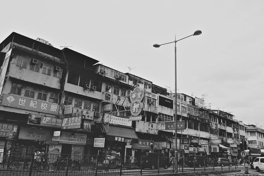 Sheung Shui old block