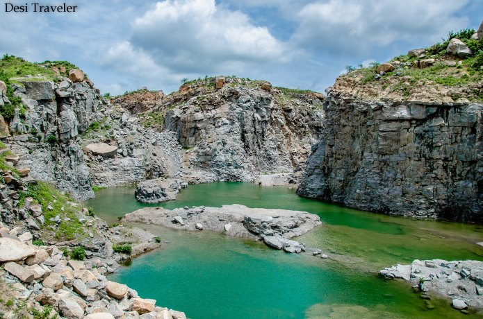 Hidden Canyon lake Hyderabad