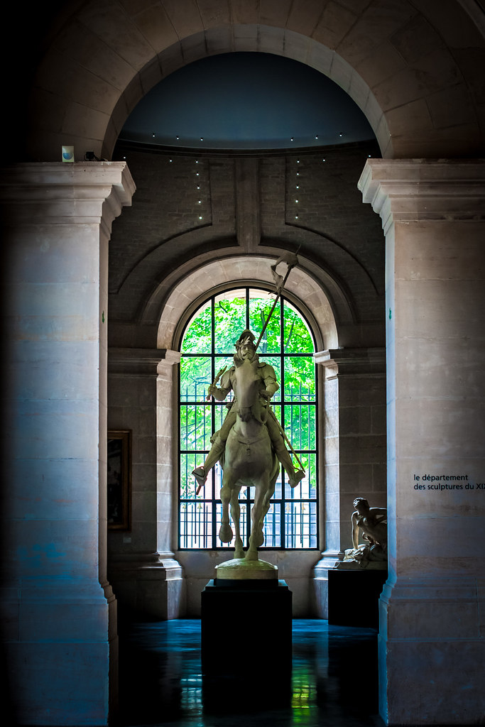 Le Chevalier Errant, Emmanuel Frémiet, Lille, France, Le Palais Des Beaux Arts