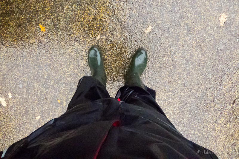 Dressed for the rain
