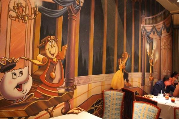 Lumiere's on the Disney Magic
