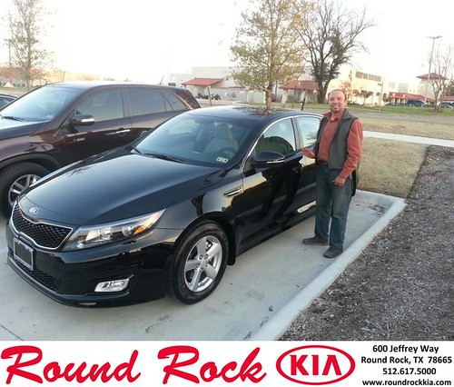 Thank you to Luis Argaez-Morales on your new 2014 #Kia #Optima from Rudy Armendariz and everyone at Round Rock Kia! #NewCar by RoundRockKia