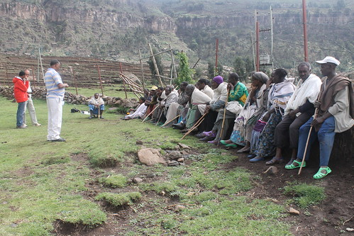 Community discussion In Tigray