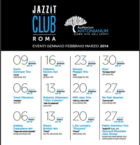 SMART PERFORMING JAZZ - Nasce Jazzit Club by cristiana.piraino