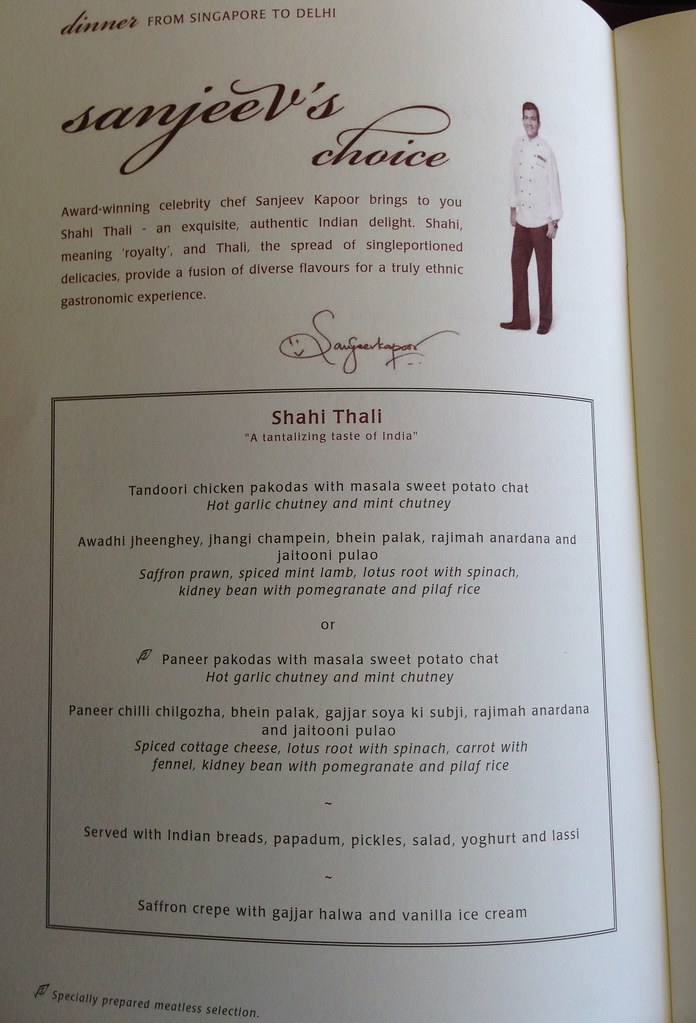 Chef's Selection Page
