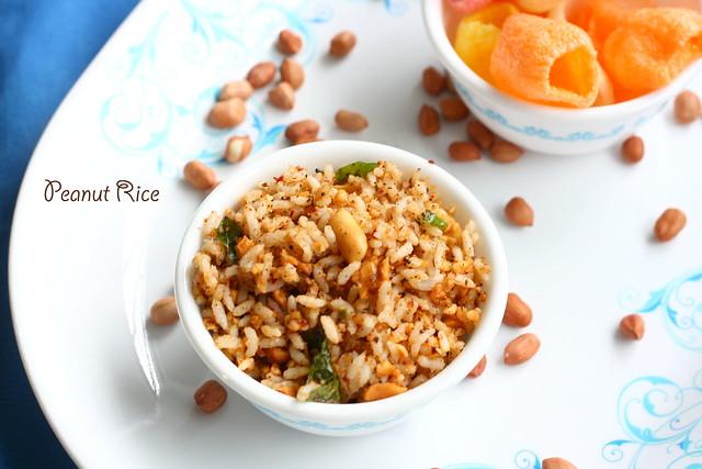 Peanut rice 1