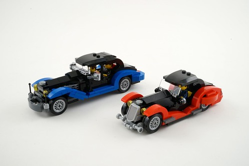 Lego Oldtimer limousine with Coupé by szász