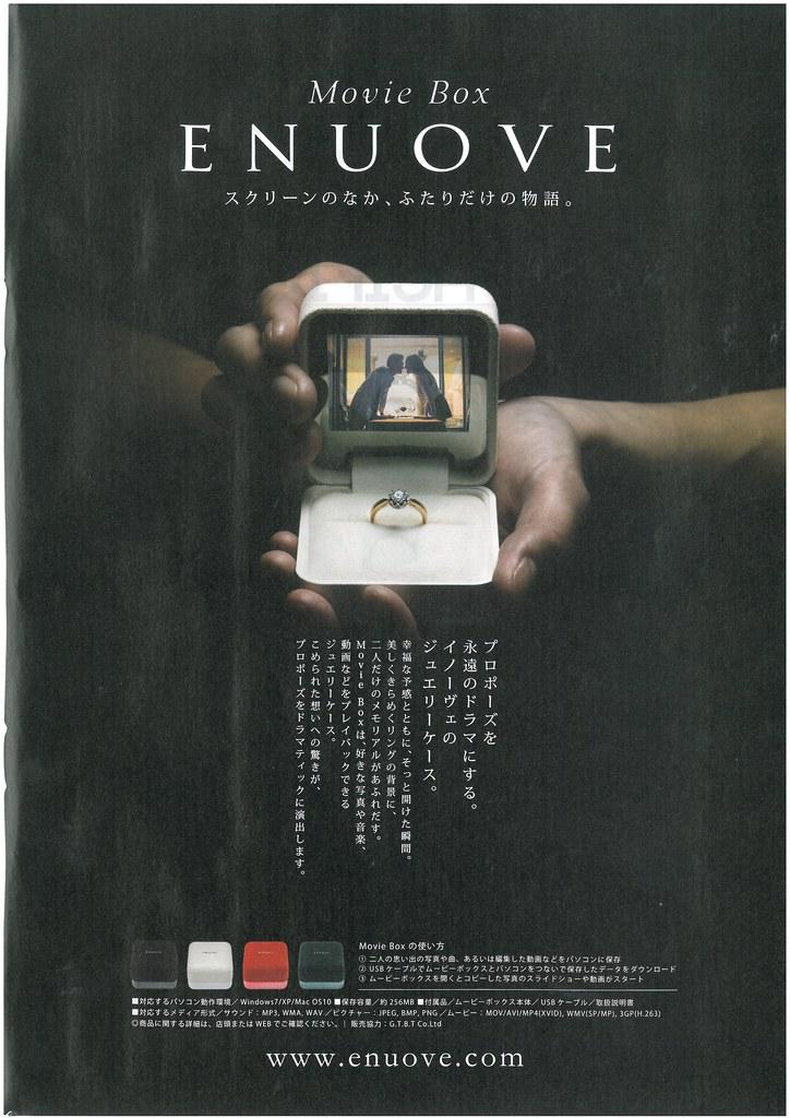 Digital wedding ring box