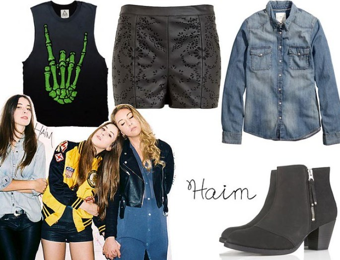haim band fashion