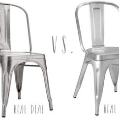 Tolix Side Chair Steel Price In Kerala Marais Chairs Real Deal Or Steal Brooklyn Limestone Tolixrealdealvsrealsteal The