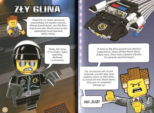 The LEGO Movie Życie jest Czadowe skan Zły Glina