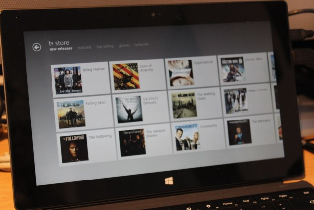 Xbox Video on Surface RT