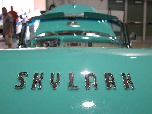 1954 Buick Skylark convertible e