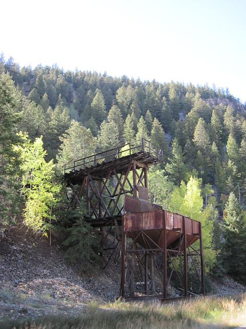 Old Mine Near Lake San Cristobal, Colorado