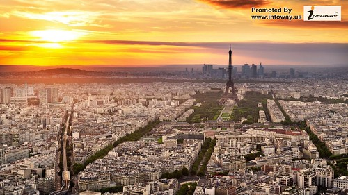 Paris Tower France City HD Wallpaper