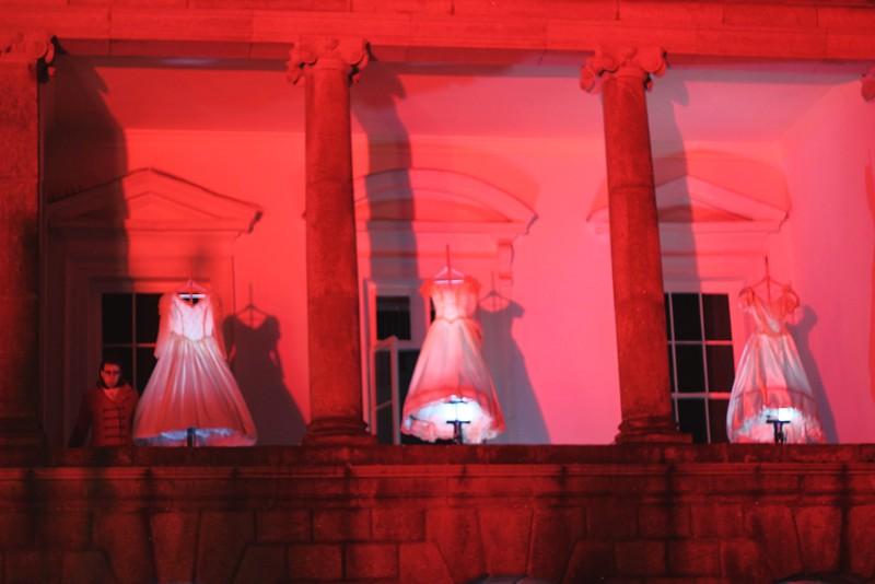 Bram Stoker Festival Dublin Castle Bridal Gowns