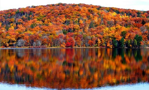 Fall Mountain Reflection