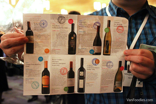 Vancouver Sun Passport to Great Wine