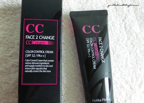 Holika Holika Face 2 Change CC Cream2