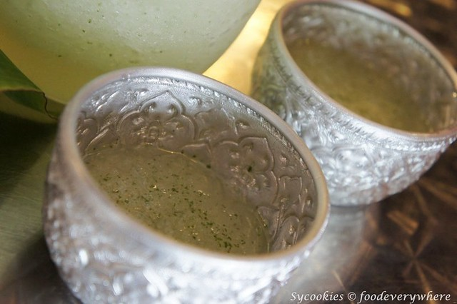 18.i'm spicy house drink RM 15 per jug-a refreshing ice blended mix of pandad, lemongrass, lime and mint leaves (5)