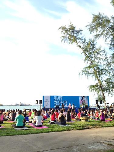 yoga by the sea 2013