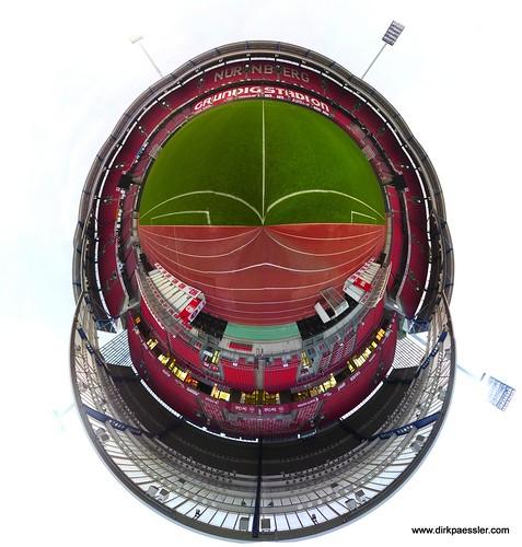 Planet Grundig Stadion, Nürnberg by Dirk Paessler