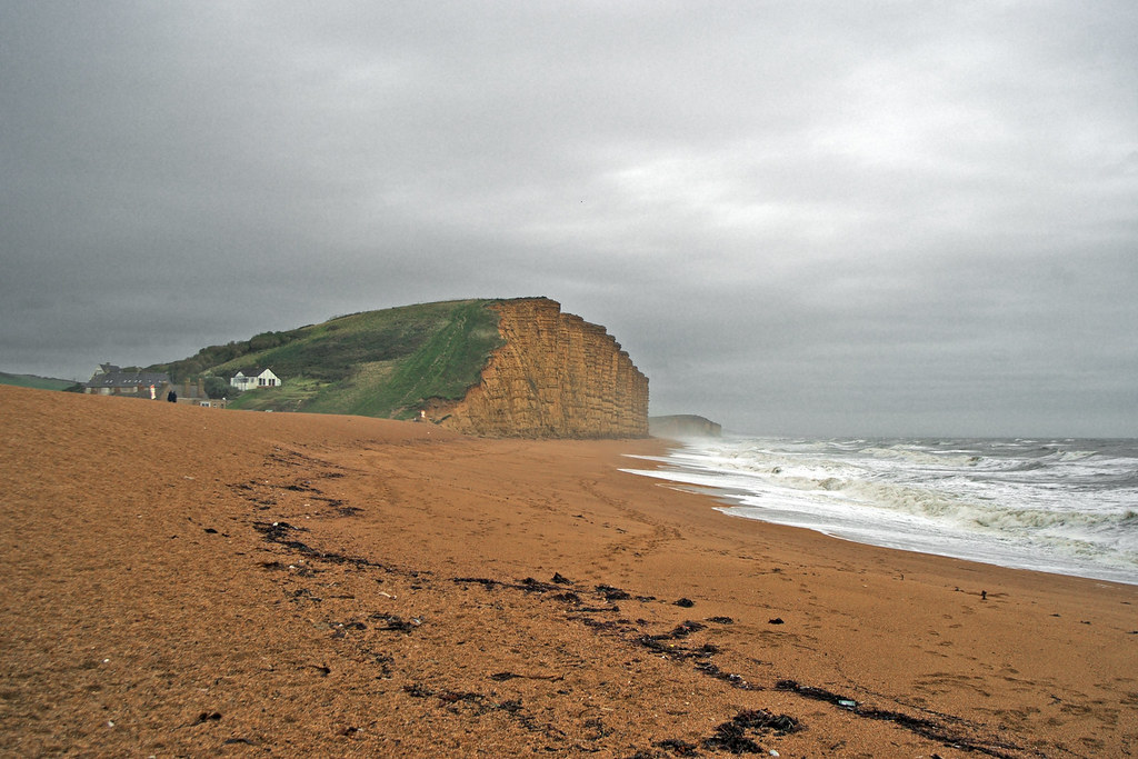 Wes Bay, the Cliff, and Spindrift