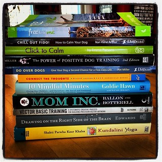 Link to Flickr for photo of Stack of Books