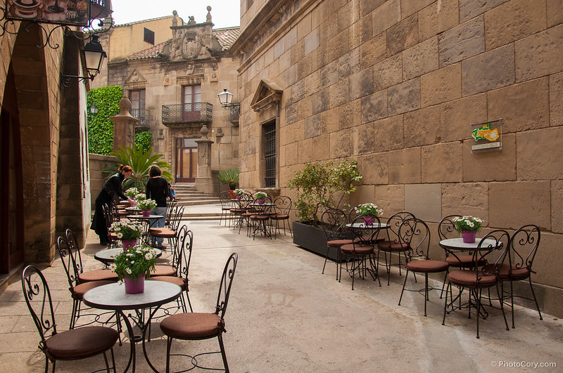 Restaurant in the Poble Espanyol