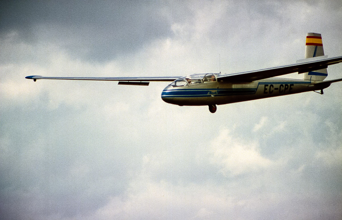 Un examen de vuelo sin motor