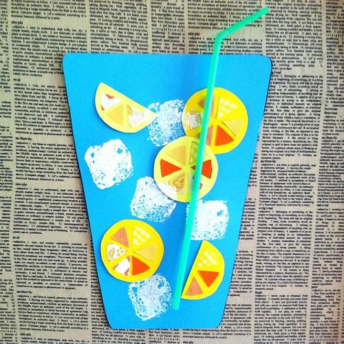Craft Time Paper Lemonade