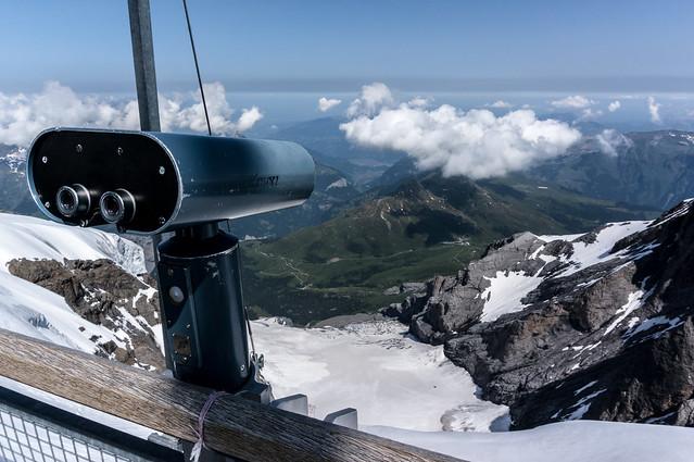 Jungfraujoch - Viewfinder