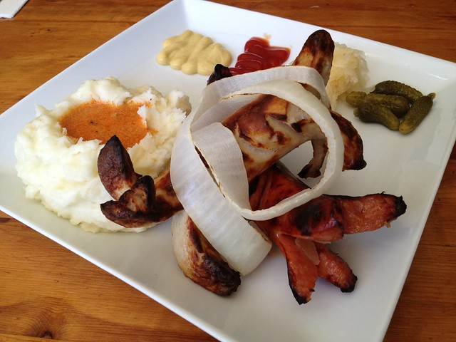 Mixed sausages plate - Paprika
