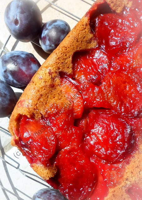 Gâteau Quetsches et Cannelle / Damson and Cinnamon Cake