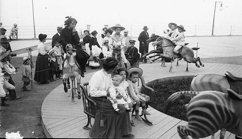 Branguli-parque de atracciones de Tibidabo 1910-15