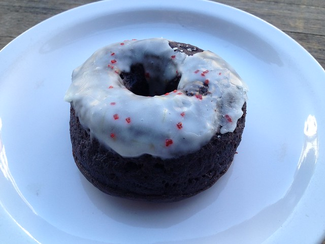 Chocolate rise donut - Four Barrel Coffee