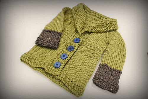 20130121. Baby Sophisticate sweater.