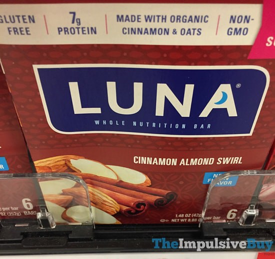 Luna Cinnamon Almond Swirl Bars