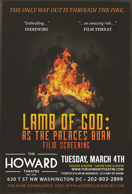 Lamb Of God: As The Palaces Burn