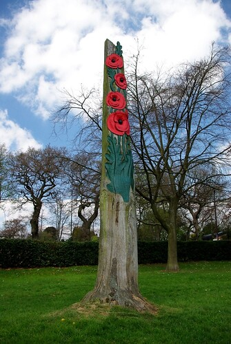 20130502-01a_Poppy Tree Carving_Coventry War Memorial Park by gary.hadden
