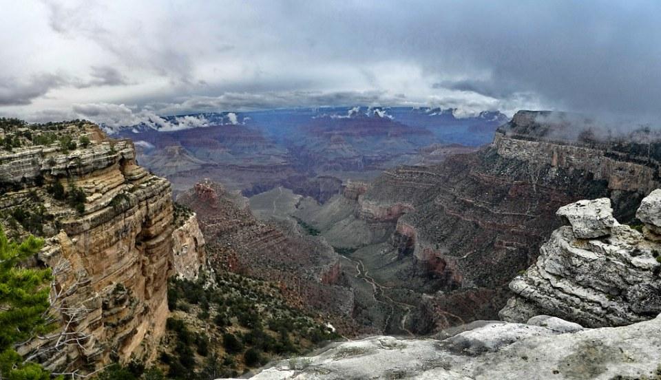 Gran Cañon del Colorado borde sur EEUU 17