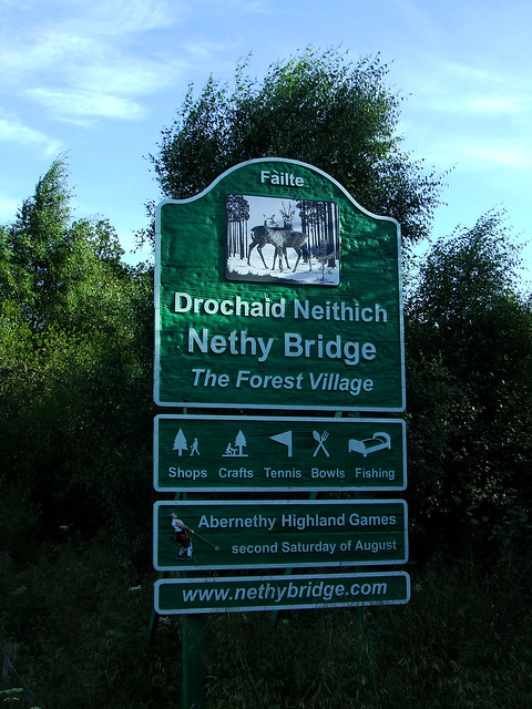 Nethy Bridge sign